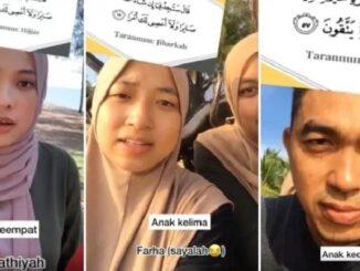 5 beradik Bertaranum, Bacaan Merdu Kakak dan Abang Qariah Farhatul buat warga maya Terpegun