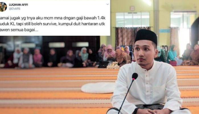 Bergaji RM1400, Lelaki ini Kongsi Tips kumpul RM18000 setahun untuk Kahwin