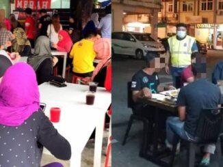 Rakyat semakin keras kepala, Polis akan pantau Penjarakan sosial di Restoran dan warung