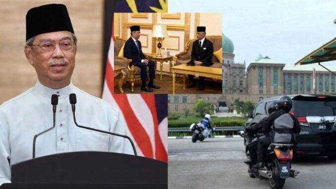 Spekulasi Daruurat, Perdana Menteri bertemu Agong